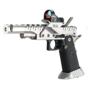 BUL Armory SAS II UR Pistol – Silver & Silver