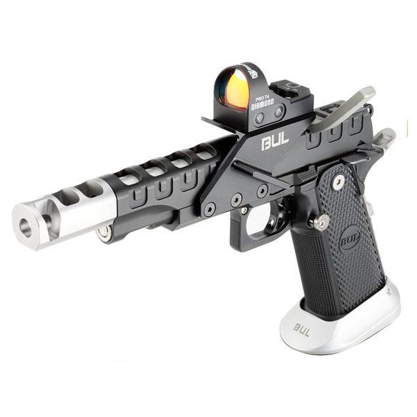 BUL Armory SAS II UR Pistol – Black & Silver