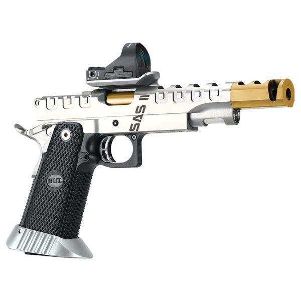 BUL Armory SAS II UR Pistol – Titanium Nitride Coated