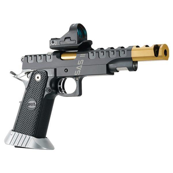 BUL Armory SAS II UR Pistol – Black & Gold – Titanium Nitride Coated
